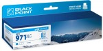 Tusz Black Point zamiennik do HP 971XL (CN626AE) - Cyan (100 ml)