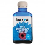 Tusz Barva do Brother LC-1000 - Cyan 180 ml.