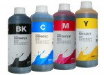 Tusze InkTec do Epson WorkForce - komplet 4x1000 ml.