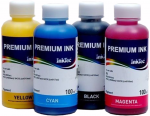 Tusze InkTec Premium Ink do HP - komplet 4x100ml