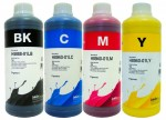 Tusze InkTec Pigment do HP OfficeJet 932/933 -  komplet 4x1000 ml.