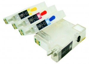 Wieczne Nano-Kartridże do Epson WorkForce T2711-T2714 - komplet 4 szt.