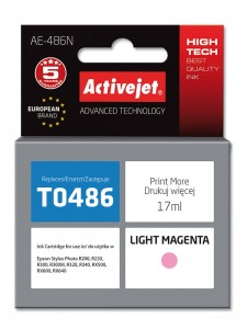 Tusz ActiveJet do Epson T0486 - Light magenta (17 ml)