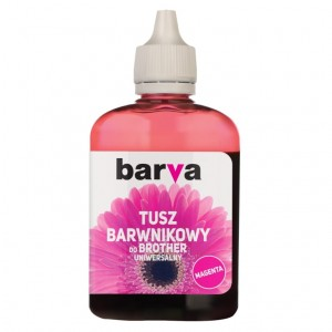 Tusz Barva do Brother BT5000 - Magenta 90 ml.