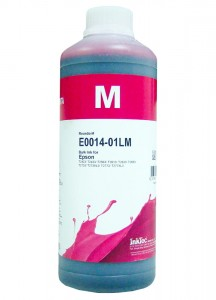 Tusz InkTec Magenta do Epson (E0014 - T2433/T2633/T3363) - 1000 ml.