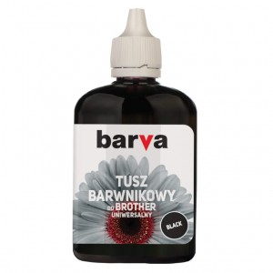 Tusz Barva do Brother BT6000 - Czarny 90 ml.
