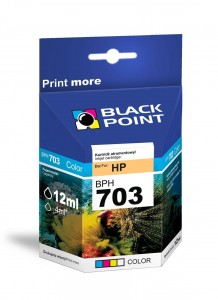 Tusz Black Point zamiennik do HP 703 (CD888AE) - Kolorowy (C,M,Y) (12 ml, 250 stron)