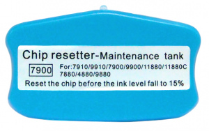 Chip reseter do Maintenance Box (Pampersa) w Epson Pro 7900/9900/11880 Series