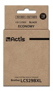 Tusz Actis zamiennik do Brother LC529BK (KB-529Bk) - Czarny (58 ml)