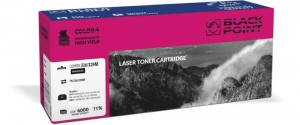 Toner do Brother TN326 - Zamiennik Black Point - Magenta 6000 stron