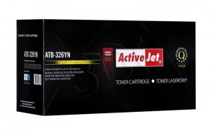 Toner do Brother TN326 - Zamiennik Activejet - Żółty 3500 stron