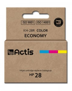 Tusz Actis zamiennik do HP 28 C8728A (KH-28R) - Kolor C-M-Y (21 ml)
