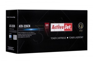Toner do Brother TN326 - Zamiennik Activejet - Cyan 3500 stron