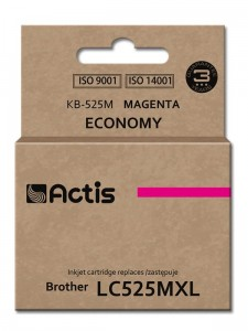 Tusz Actis zamiennik do Brother LC525M (KB-525M) - Magenta (15 ml)