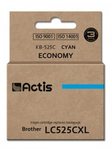 Tusz Actis zamiennik do Brother LC525C (KB-525C) - Cyan (15 ml)