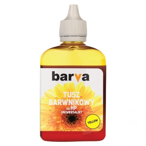 Tusz Barva Yellow do HP 90 ml.