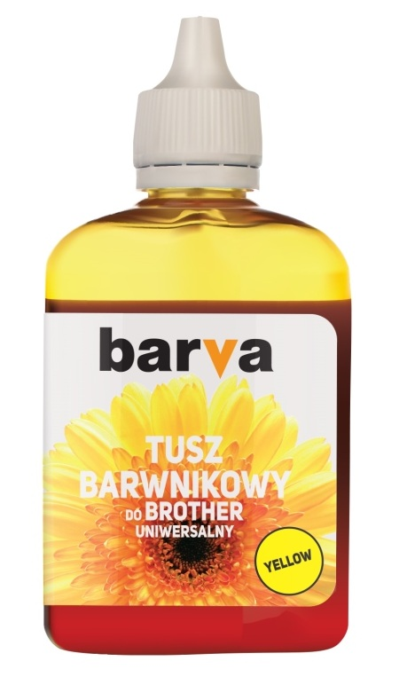 Tusz Barva Yellow do Brother LC1000 90 ml
