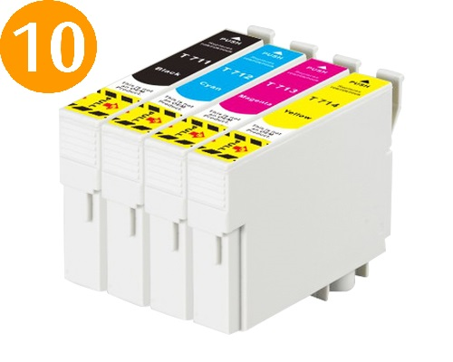 Tusze Epson T0711-T0714